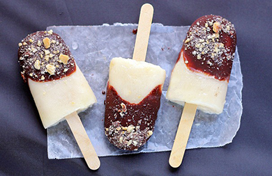 Vegan S'mores Popsicles