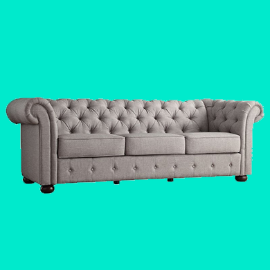 Marie tufted couch