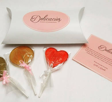 Delicacies lollipops