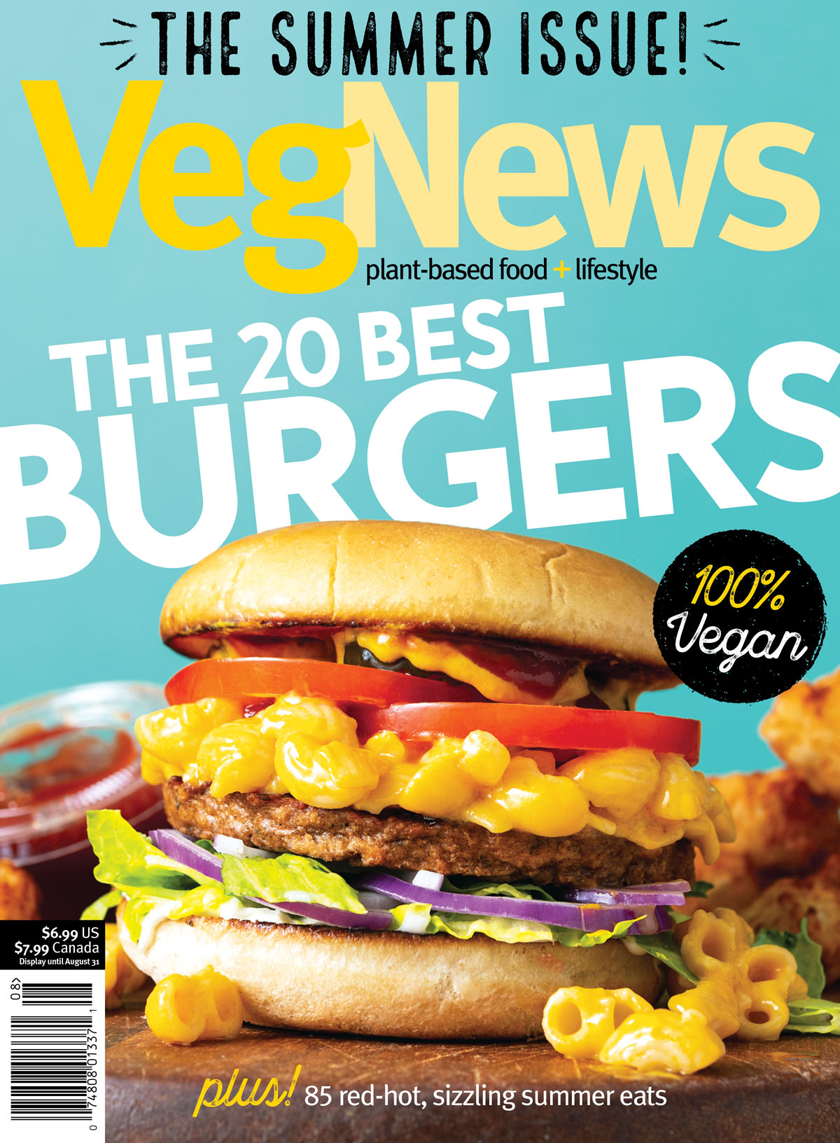 VegNews Magazine Cover
