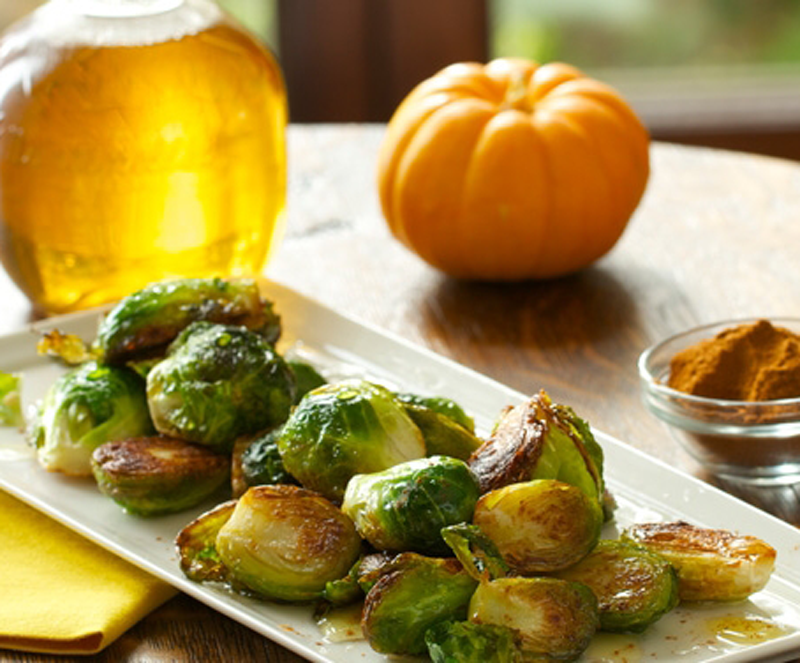 VegNews.ChefChloeAppleCiderBrusselsSprouts