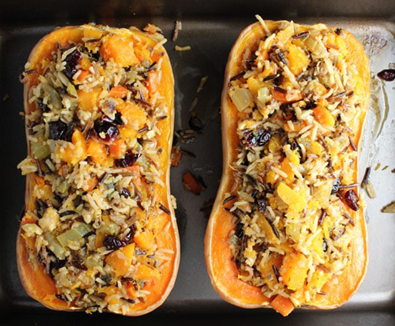 VegNews.StuffedButternutSquash