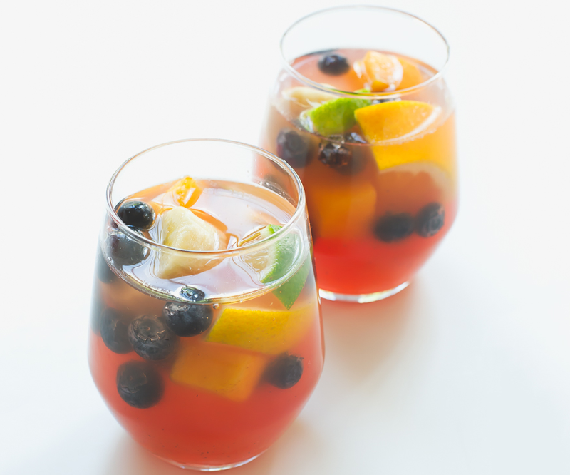 how to make sangria without alcohol