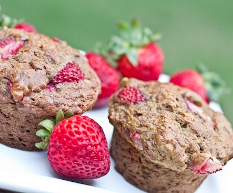 VegNews.StrawberryMuffins Cropped