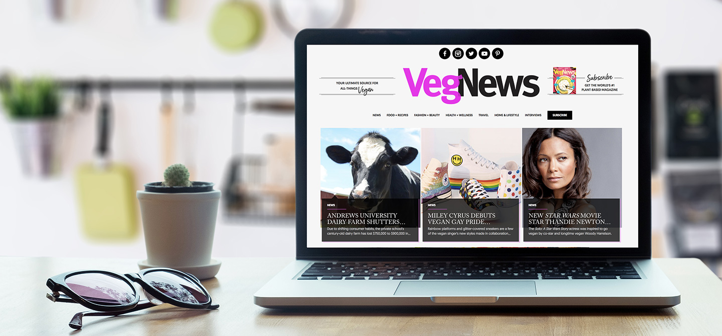 VegNews.Website