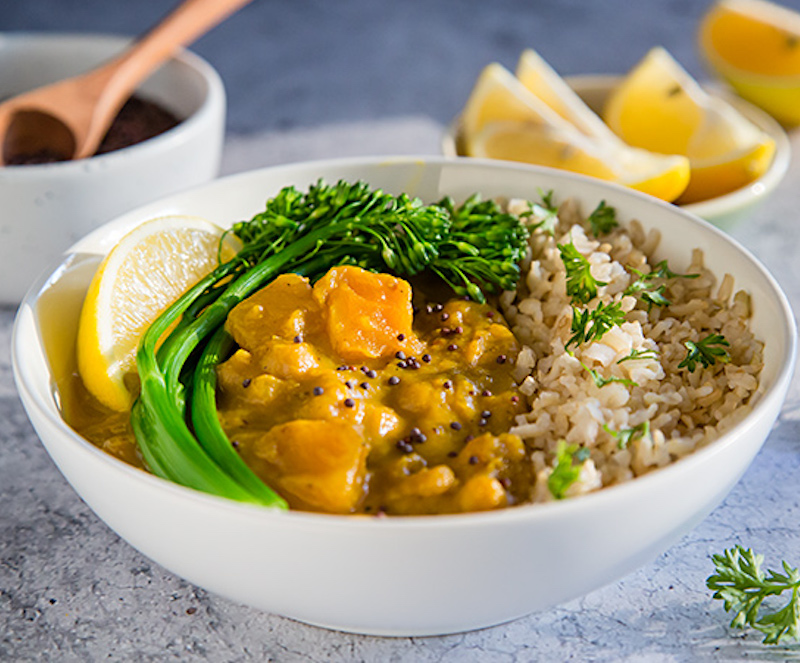 VegNews.Squashcurry