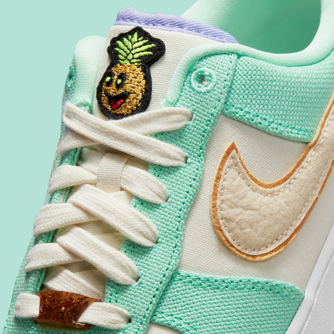 Nike's Iconic Air Force Ones Get a Vegan Pineapple Leather ...