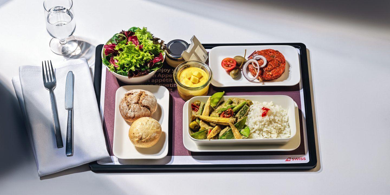VegNews.SwissAirlineMeal