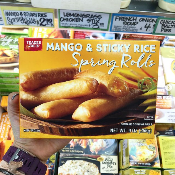 VegNews.MangoSpringRolls