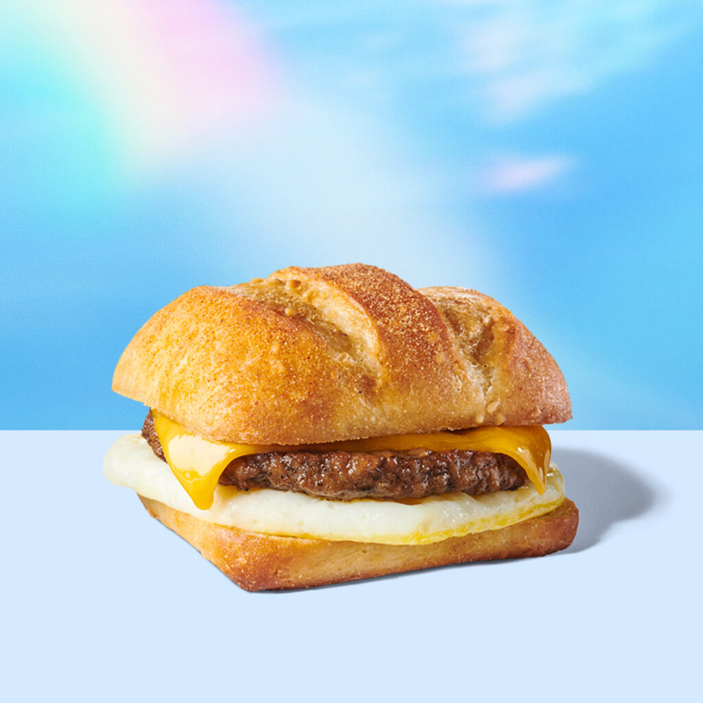 VegNews.  Impossible Breakfast Sandwich Starbucks