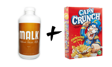 10 exquisite cereal and vegan milk pairings malk and captain make it happen the austin based plant milk makers recently expanded their distribution channels meaning that their innovative pecan milk ccuart Gallery