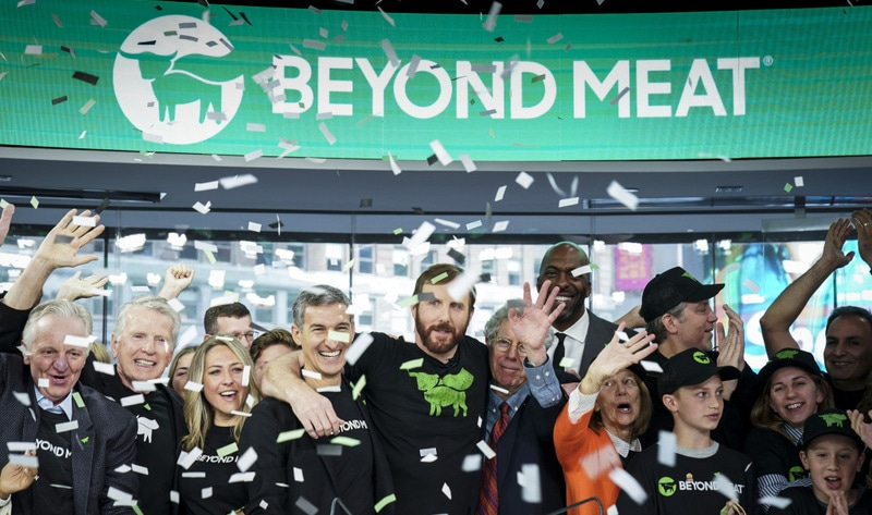 News Beyond Meat Has Top IPO of 2019 by Anna Starostinetskaya - VegNews