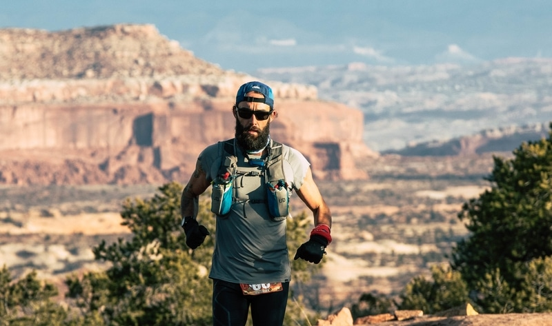 When a Vegan Runs Across America, Here's What He Eats