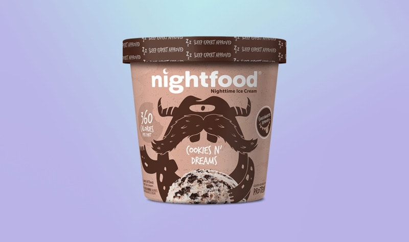 """New """"Nighttime"""" Vegan Ice Cream Simultaneously Cures Midnight Munchies and Insomnia"""