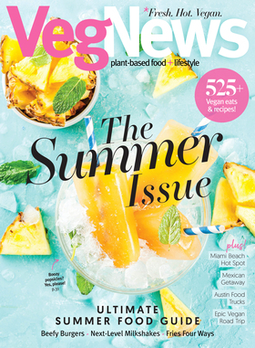 VegNews Magazine Summer Issue #119 July August September 2019