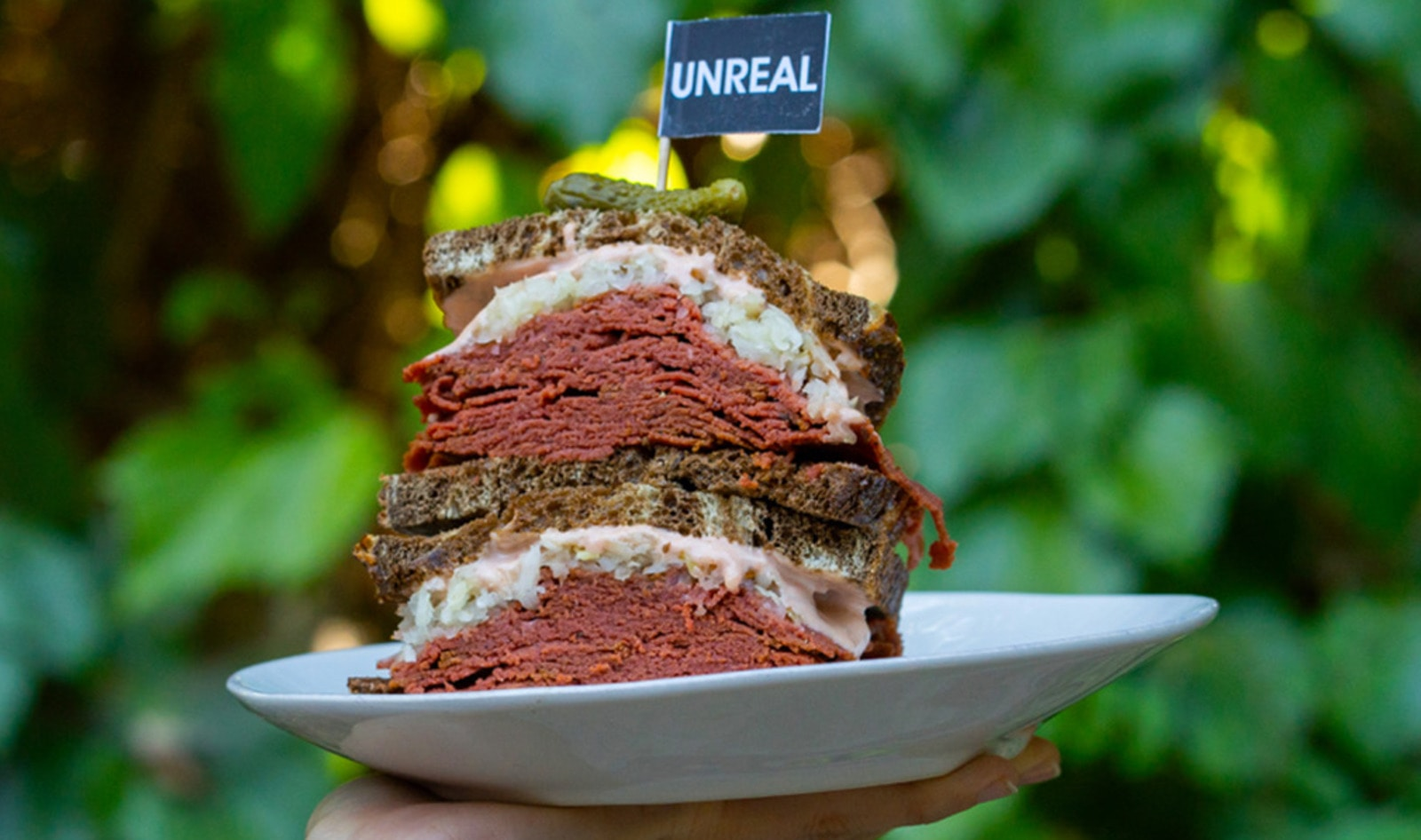 Vegan Corned Beef Sandwich Debuts at 58 Whole Foods Markets