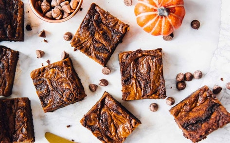 VegNews.PumpkinBrownie