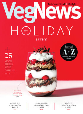 VegNews Magazine Holiday Issue #120 October November December 2019