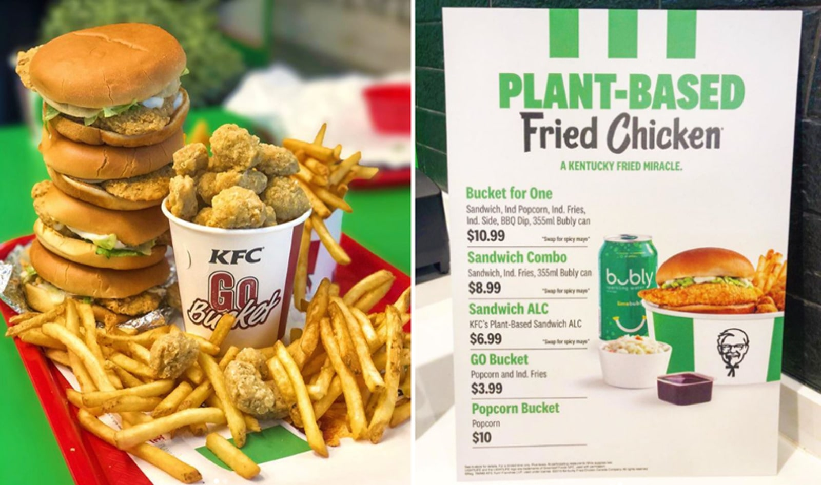 KFC Canada Sells Out of Vegan Chicken in Six Hours