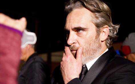 Joaquin Phoenix Goes to Pig Slaughterhouse Directly After Winning SAG Award