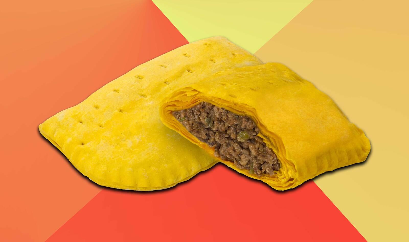 Nyc S Iconic Chain Golden Krust Debuts Vegan Beyond Beef Jamaican Patties Vegnews