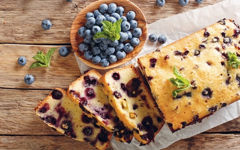 VegNews.BlueberryLoafCake