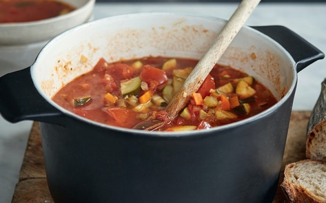 Vegan Italian Vegetable Soup