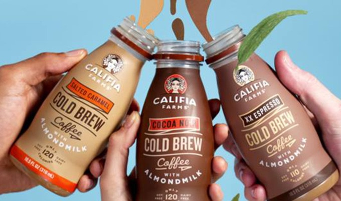 Califia Vegan Milk Cafe Pops Up at NY Fitness Shop