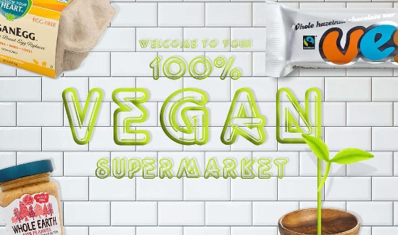 London's First Vegan Supermarket is Now Open