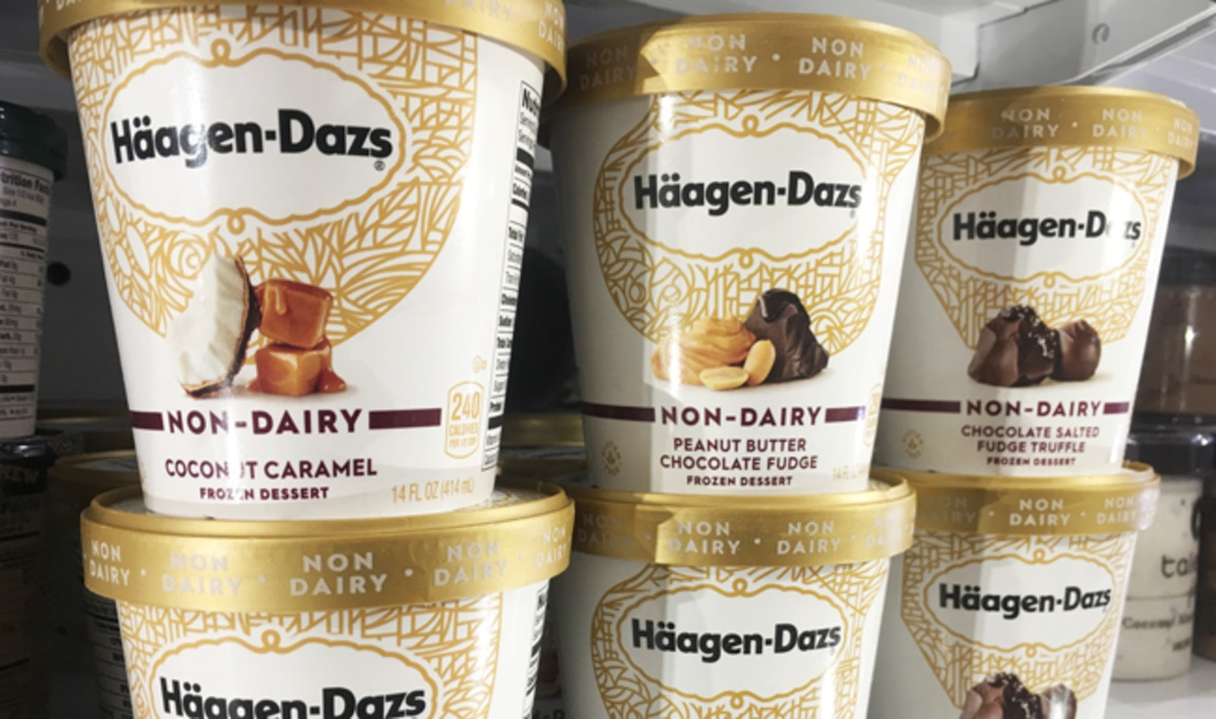 Häagen-Dazs Debuts Four Vegan Ice Creams