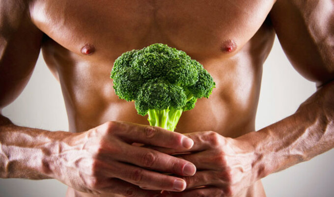 VegNews.GuywithBroccoli