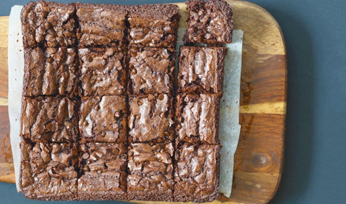 Vegan Chocolate Chip Brownies Vegnews