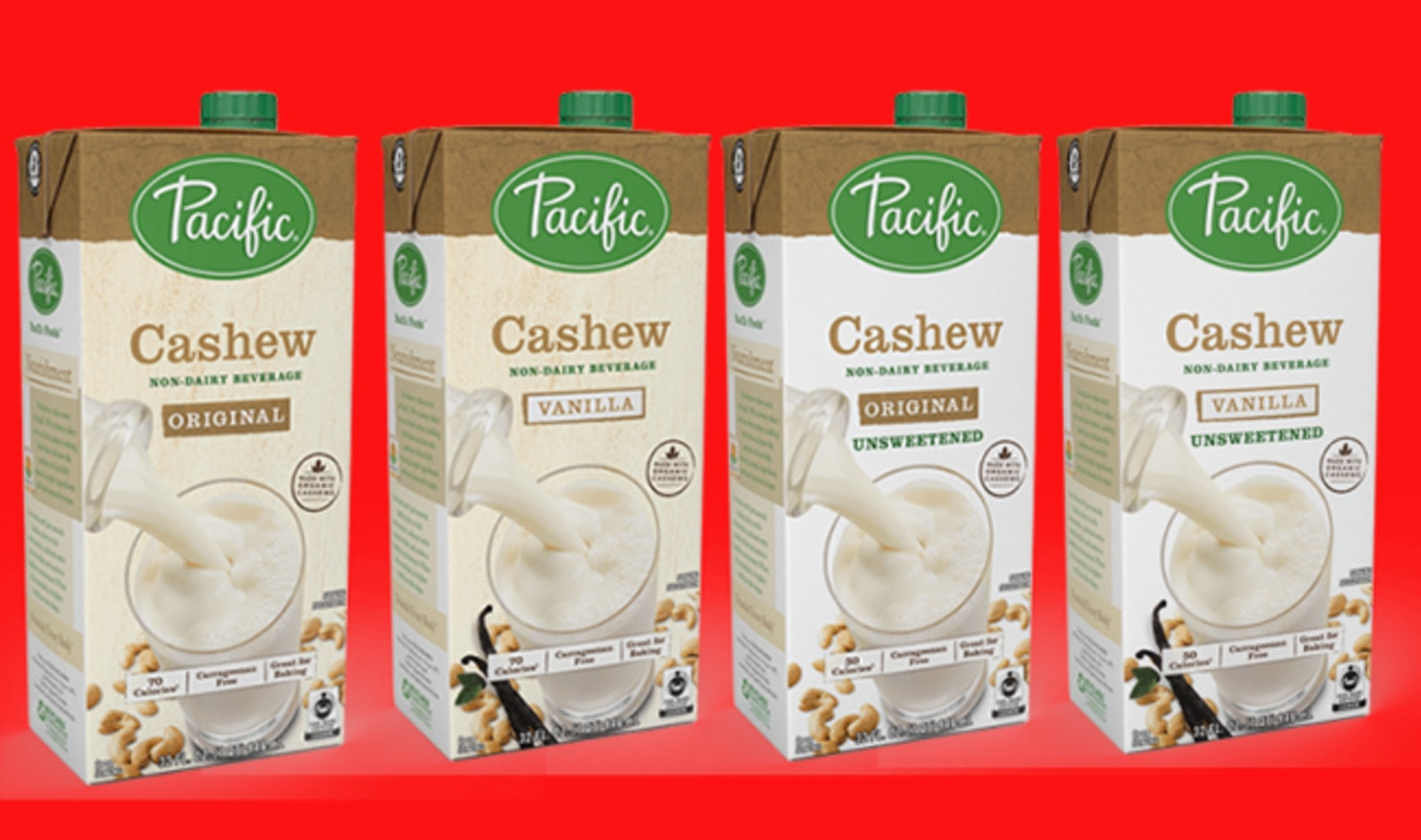 Pacific Foods Launches Cashew Milk Line