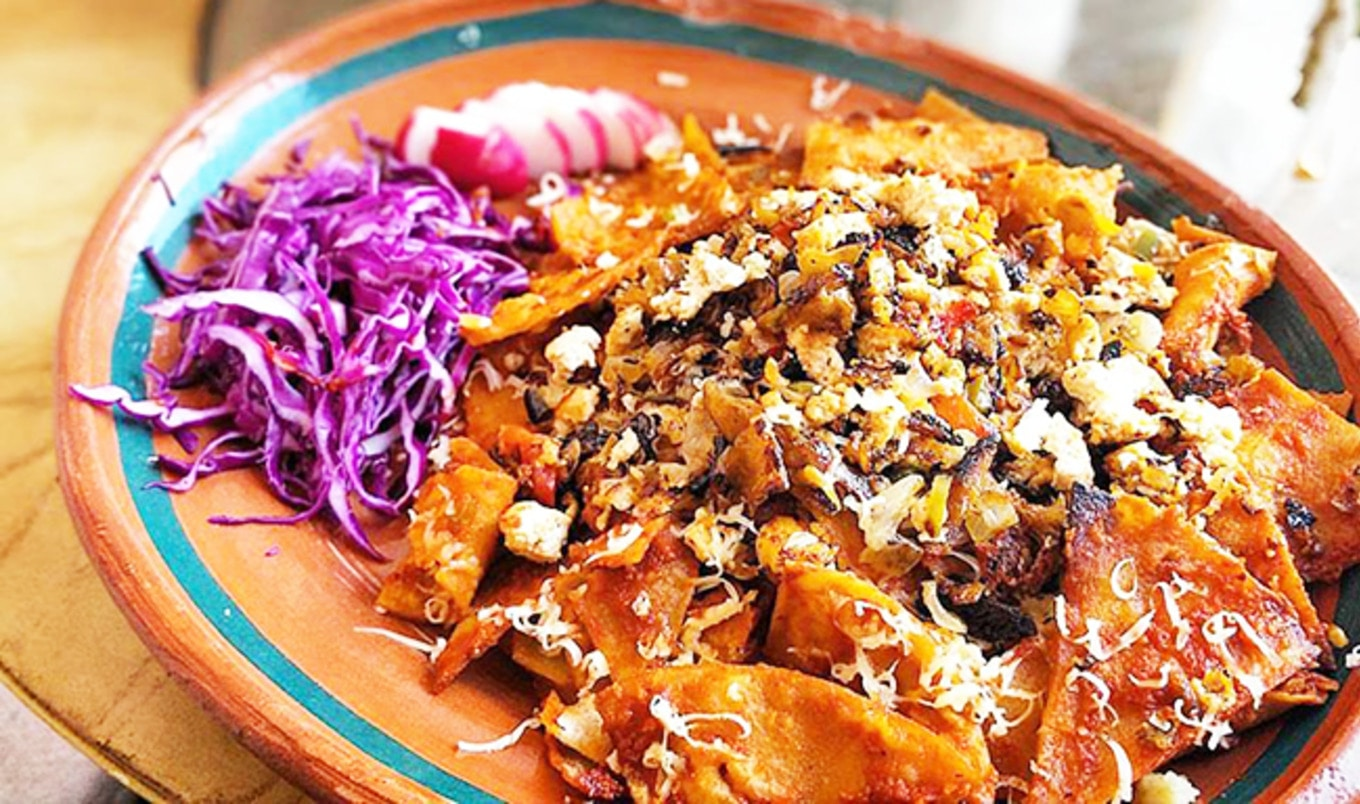 Vegan Chilaquiles Food Fight Goes Down in LA