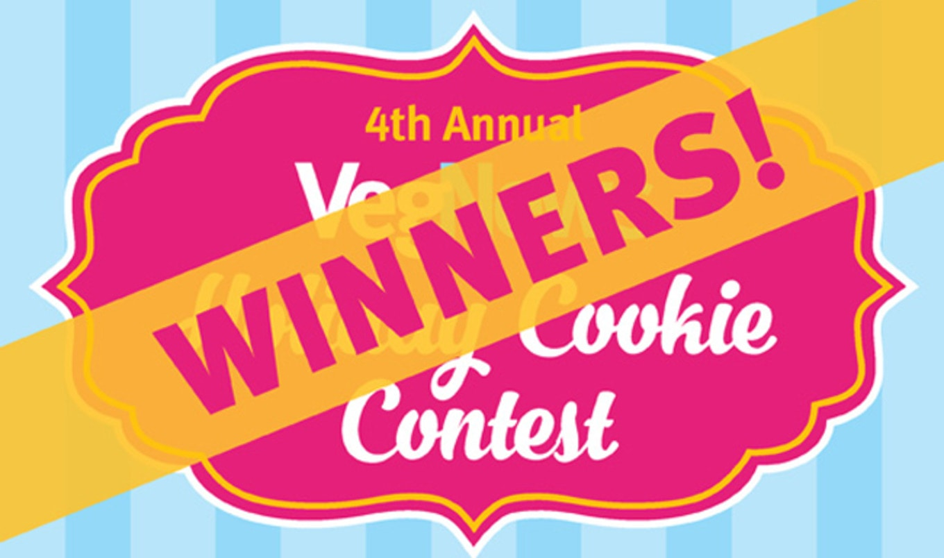 2017 VegNews Holiday Cookie Contest Winners!