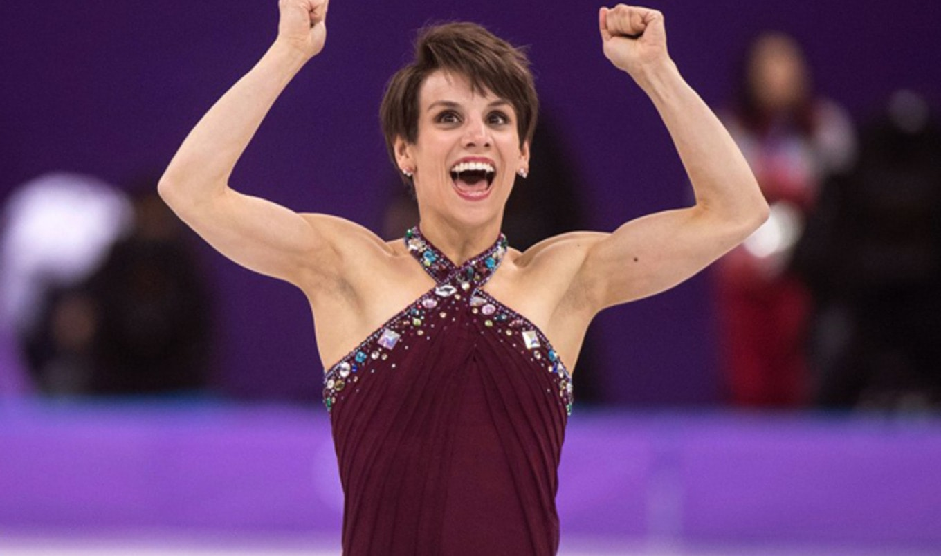 How a Vegan Canadian Figure Skater Prepared to Win Gold at the Winter Olympics