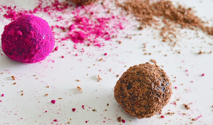 Raw Vegan Swedish Truffles
