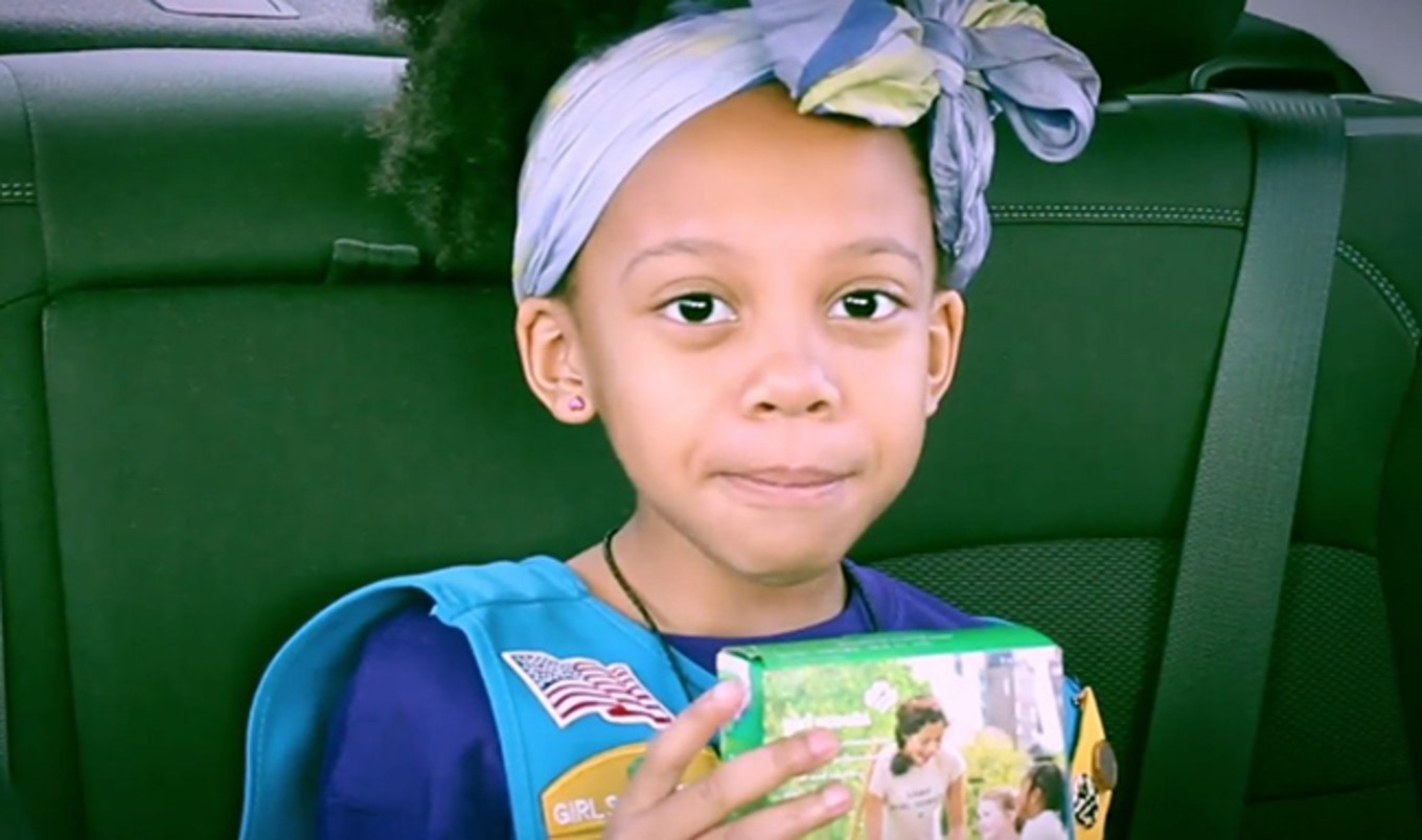 Adorable Girl Scout Explains That Thin Mints Are Vegan