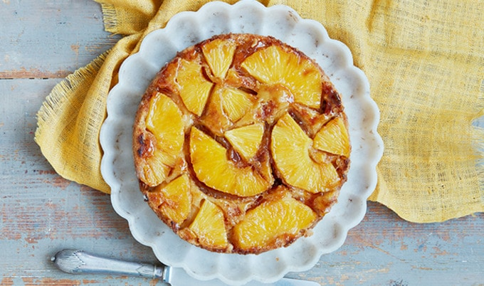 VegNews.PineappleUpsideDownCake.Feature2