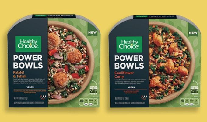 Healthy Choice Debuts Vegan Power Bowls Vegnews