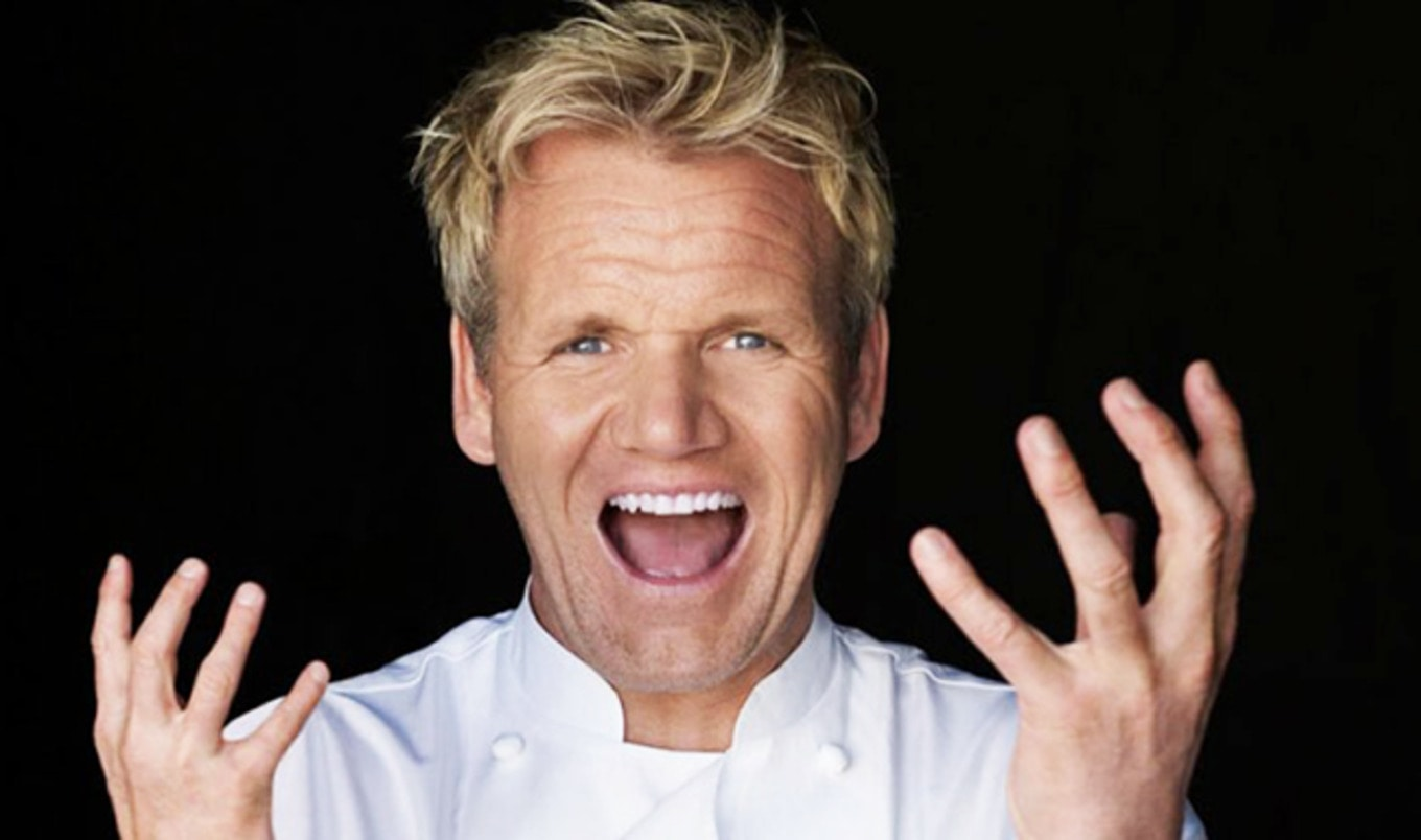 Gordon Ramsay Finally Gives Vegan Thing a Try