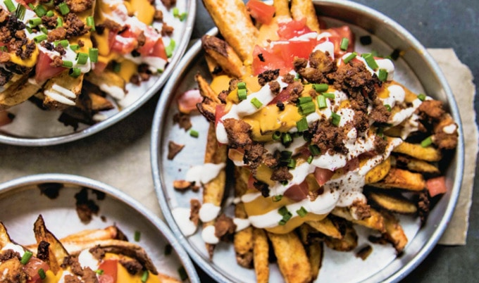 Vegan Loaded Fries Supreme