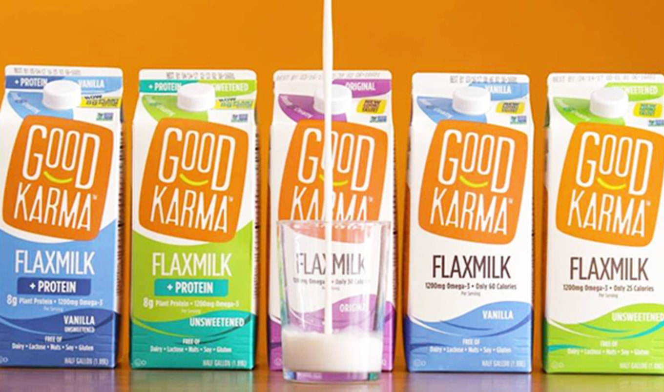 Dairy Giant Dean Foods Looks to Flax Milk for Profits