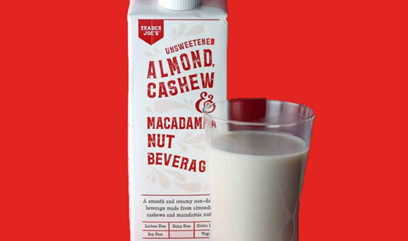 Trader Joe's Debuts New Macadamia Nut-Based Beverage