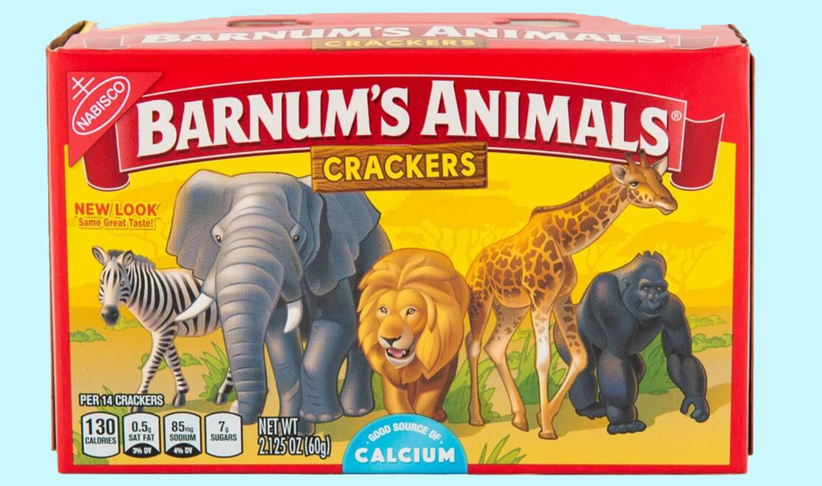 Nabisco Nixes Cages From Animal Crackers