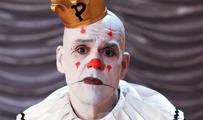 puddles pity party the sad 7 foot tall singing clown is vegan