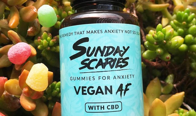 "Sunday Scaries"" Vegan CBD Gummies Debut in Time for"
