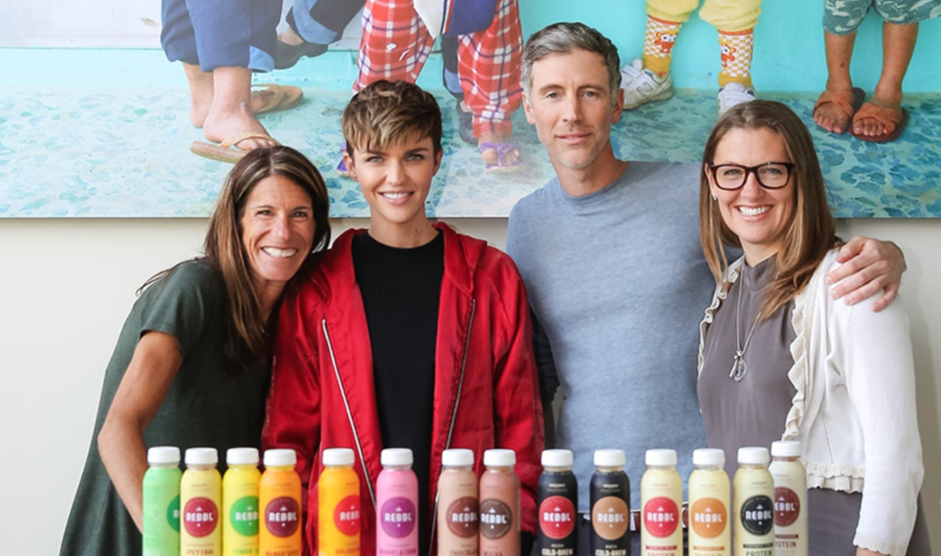 Ruby Rose Invests in Vegan Brand REBBL to Help Fight Human Trafficking