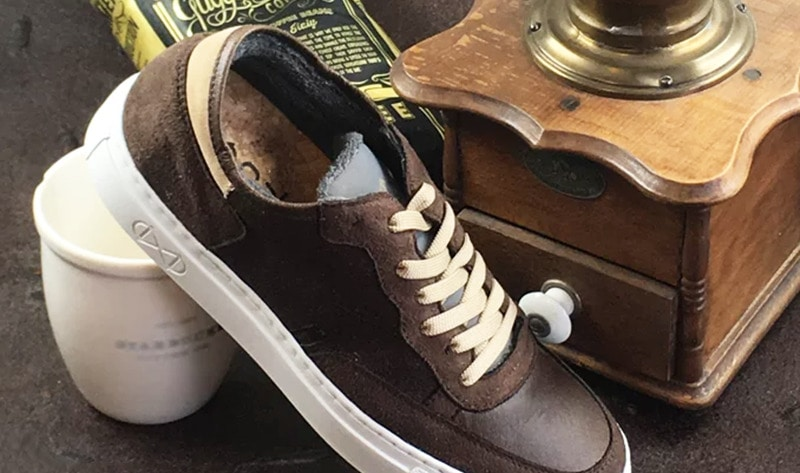 German Designer Debuts Vegan Shoes Made from Coffee  4d152f12c83c
