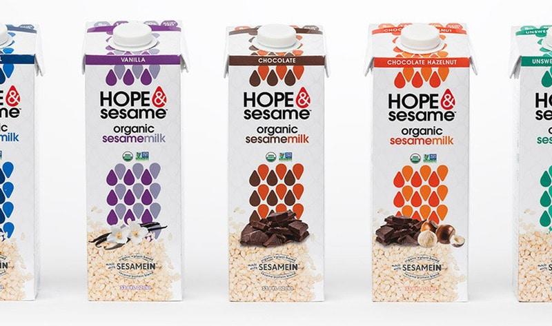 Vegan Sesame Milk Line to Launch on Amazon